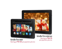 Kindle Fire HDX payments