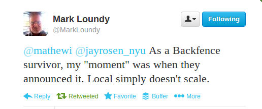 Loundy tweet