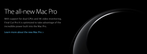 Mac Pro Final Cut