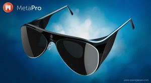 MetaPro Augmented reality glasses