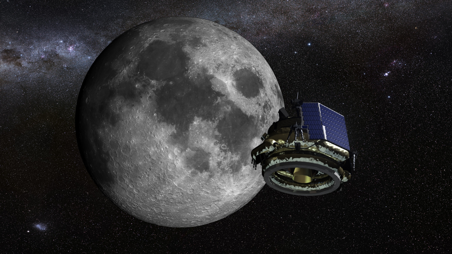 Moon Express MX-1 bound for the Moon