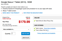 Nexus 7 Office Depot sale