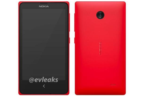 "Nokia's ""Normandy"" Android phone, according to @evleaks"