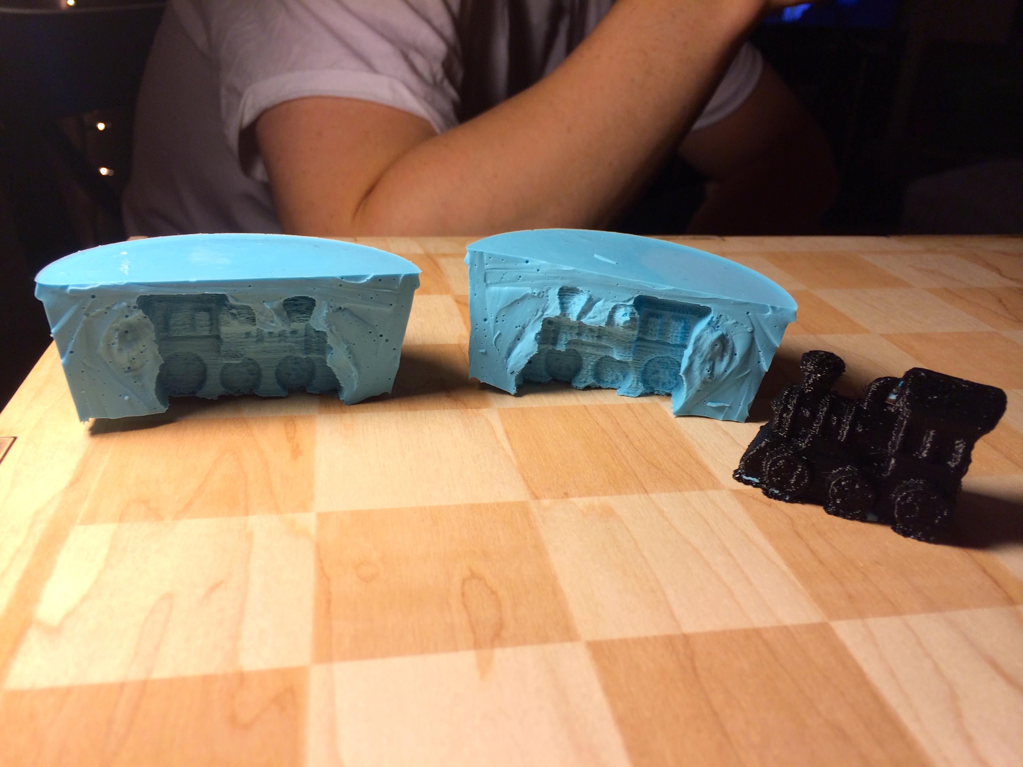 Train mould