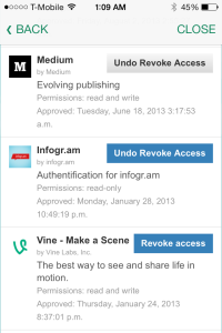 MyPermissions screenshot