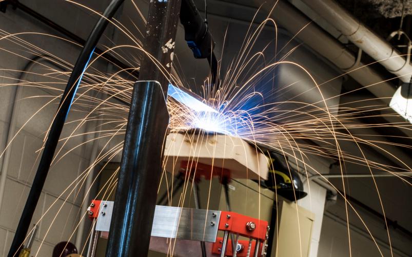 Michigan Tech Metal 3D printer