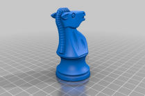 3D printable chess piece