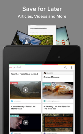 Pocket for Android