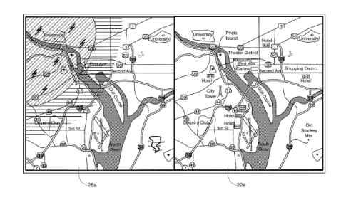 Apple Map Patent