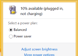 surface not charging