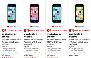 Target iPhone deal