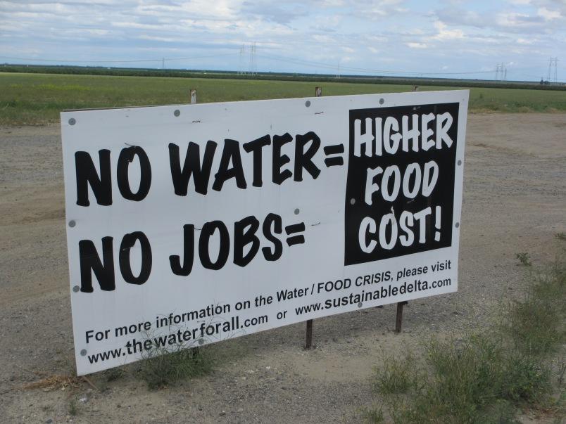 Water drought California