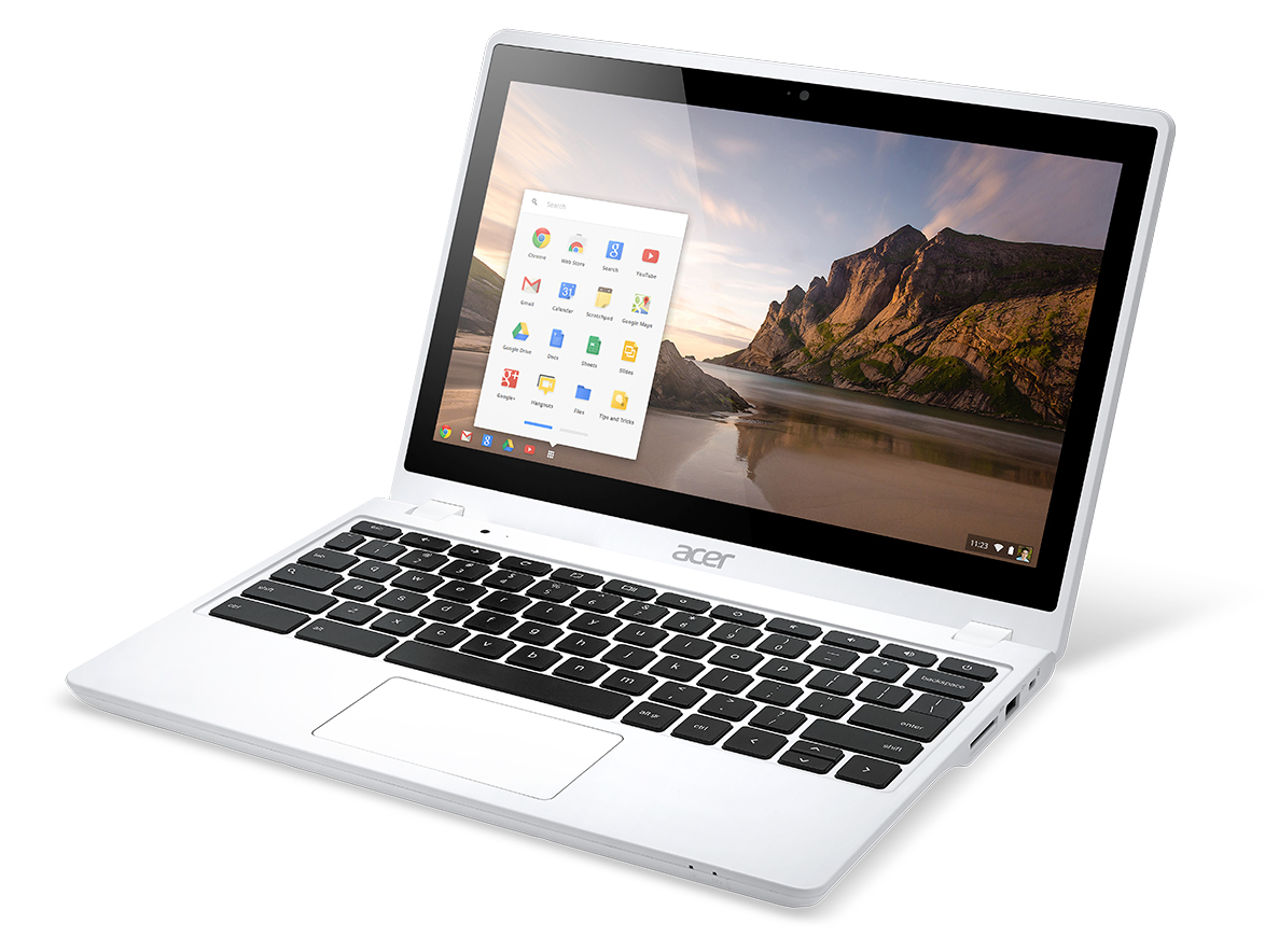 Acer C720 white angle