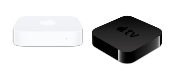 Airport Express Apple TV comparison