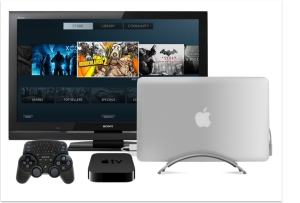 Apple Sony and Steam Mac Game Console