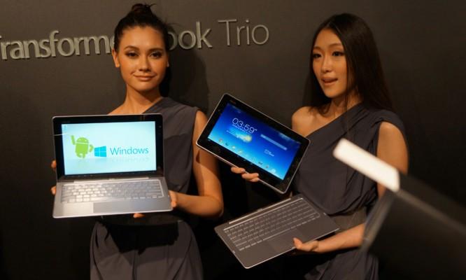 Asus Windows Android trio