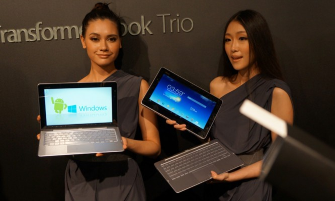 Asus Windows Android trio