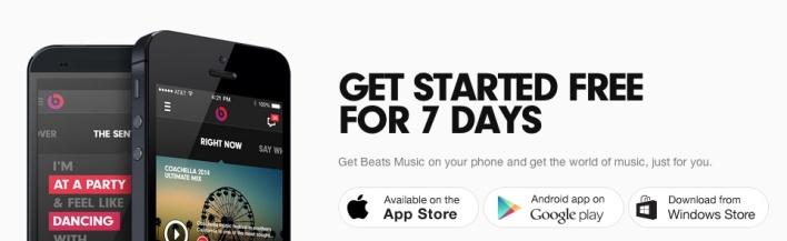 beats music app downloads