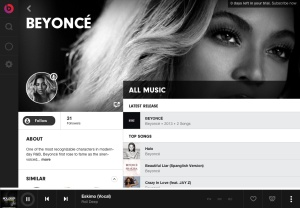 beats music feature art