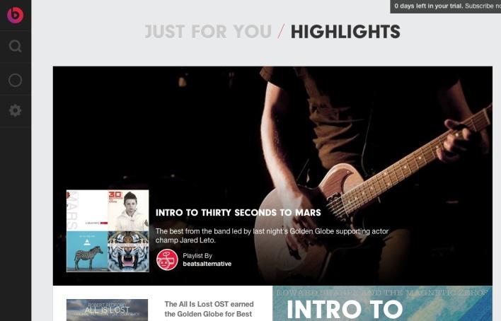 beats music highlights