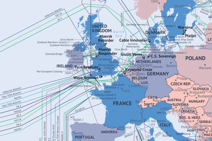 Cable map UK