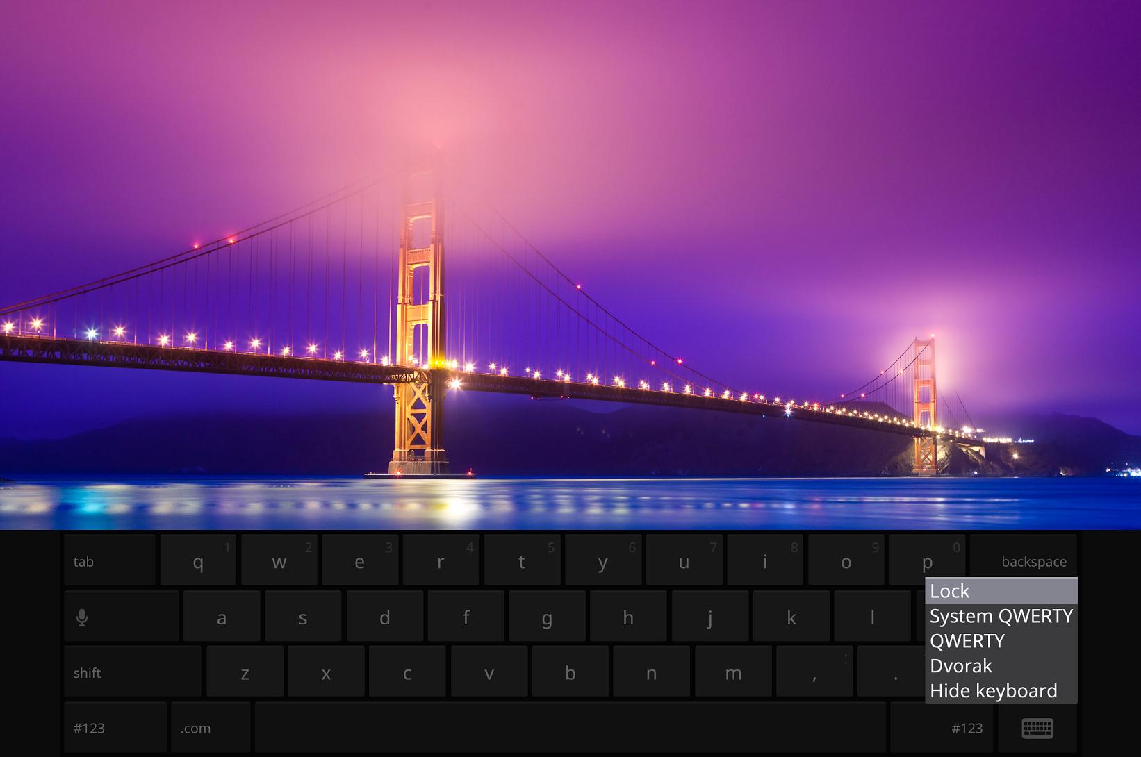 chrome OS keyboard dev