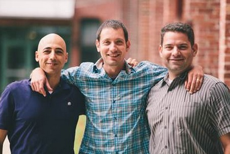 CloudLock co-Founders Tsahy Shapsa, Ron Zalkind, Gil Zimmermann (left to right):