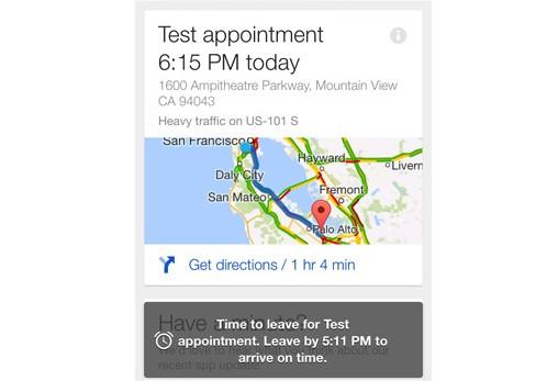 Google Now Google Search iOS