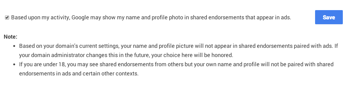 Google+ privacy