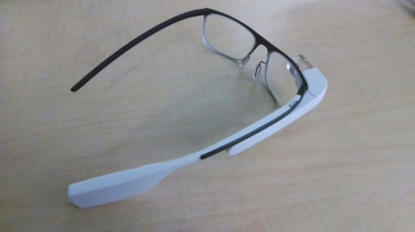 Google Glass prescription lens