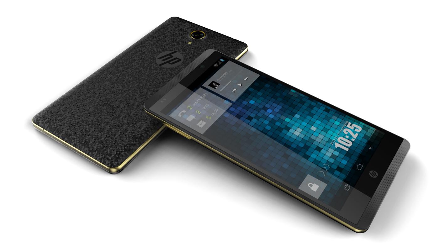 HP Slate 6 phone