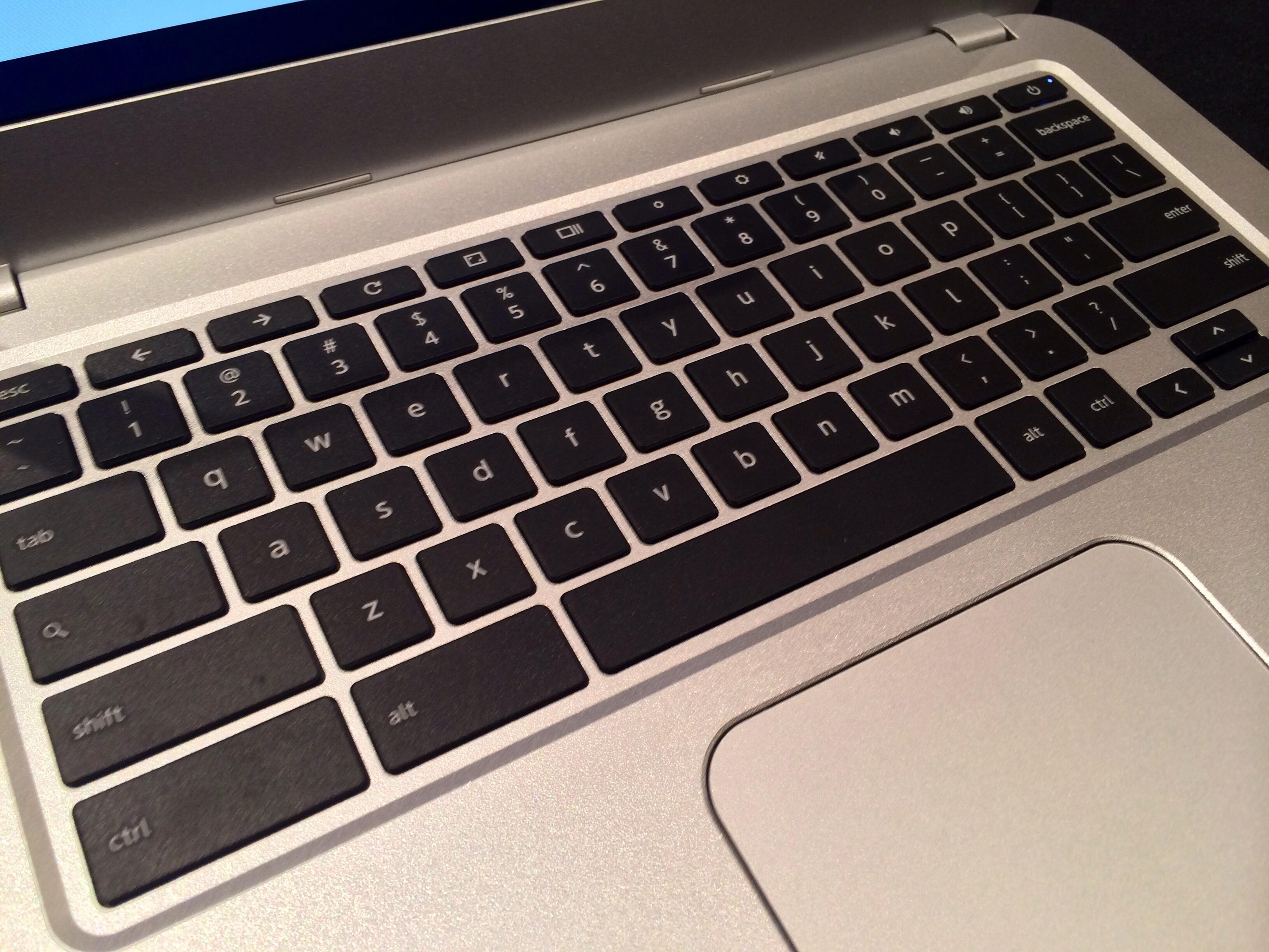 Toshiba Chromebook keyboard