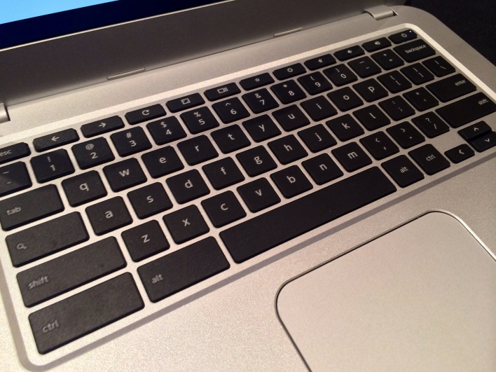 Toshiba Chromebook keyboard