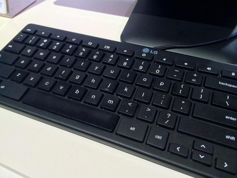 Chromebase keyboard