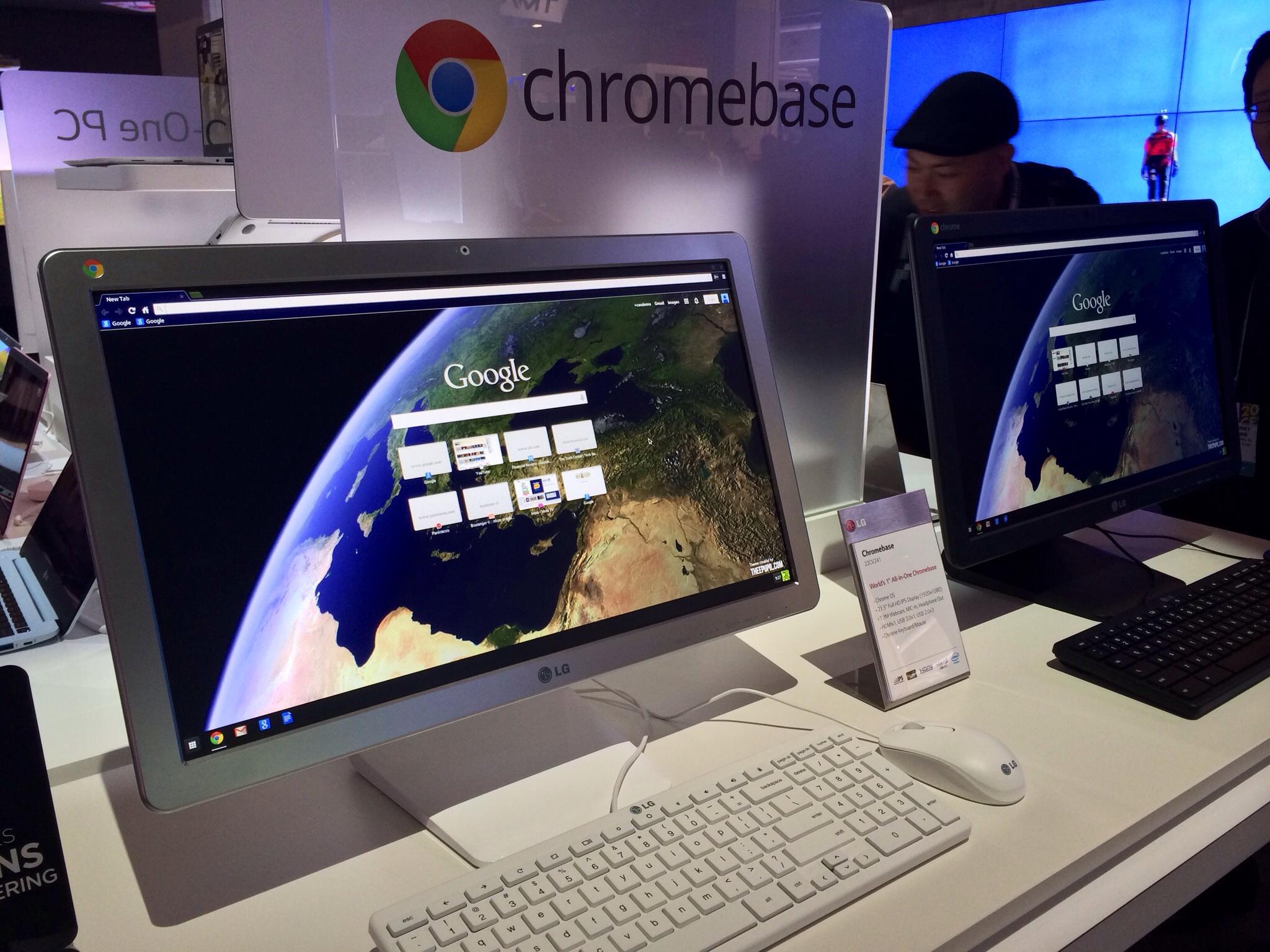 LG Chromebase octane