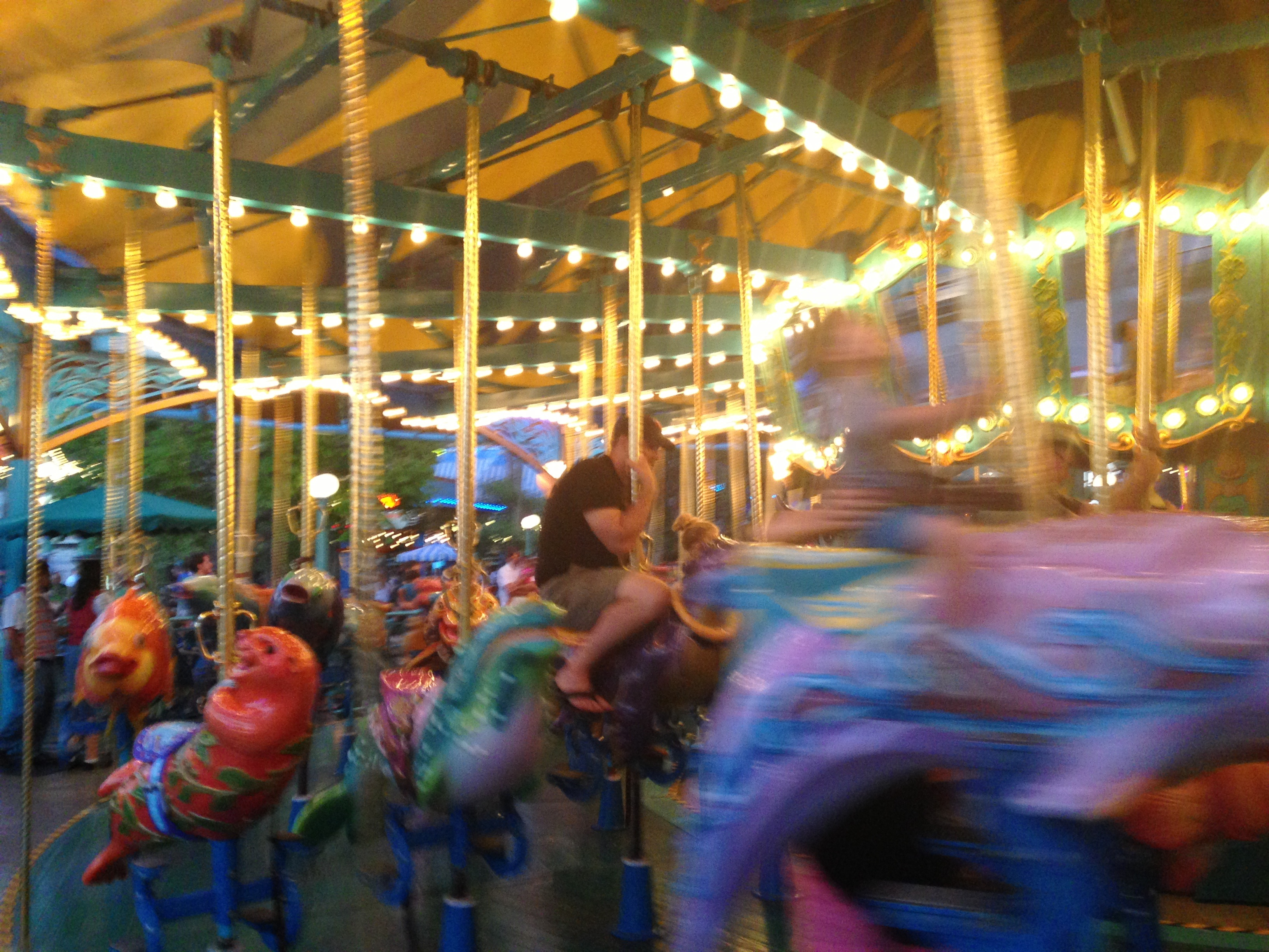 Some 33-year-olds like the carousel.