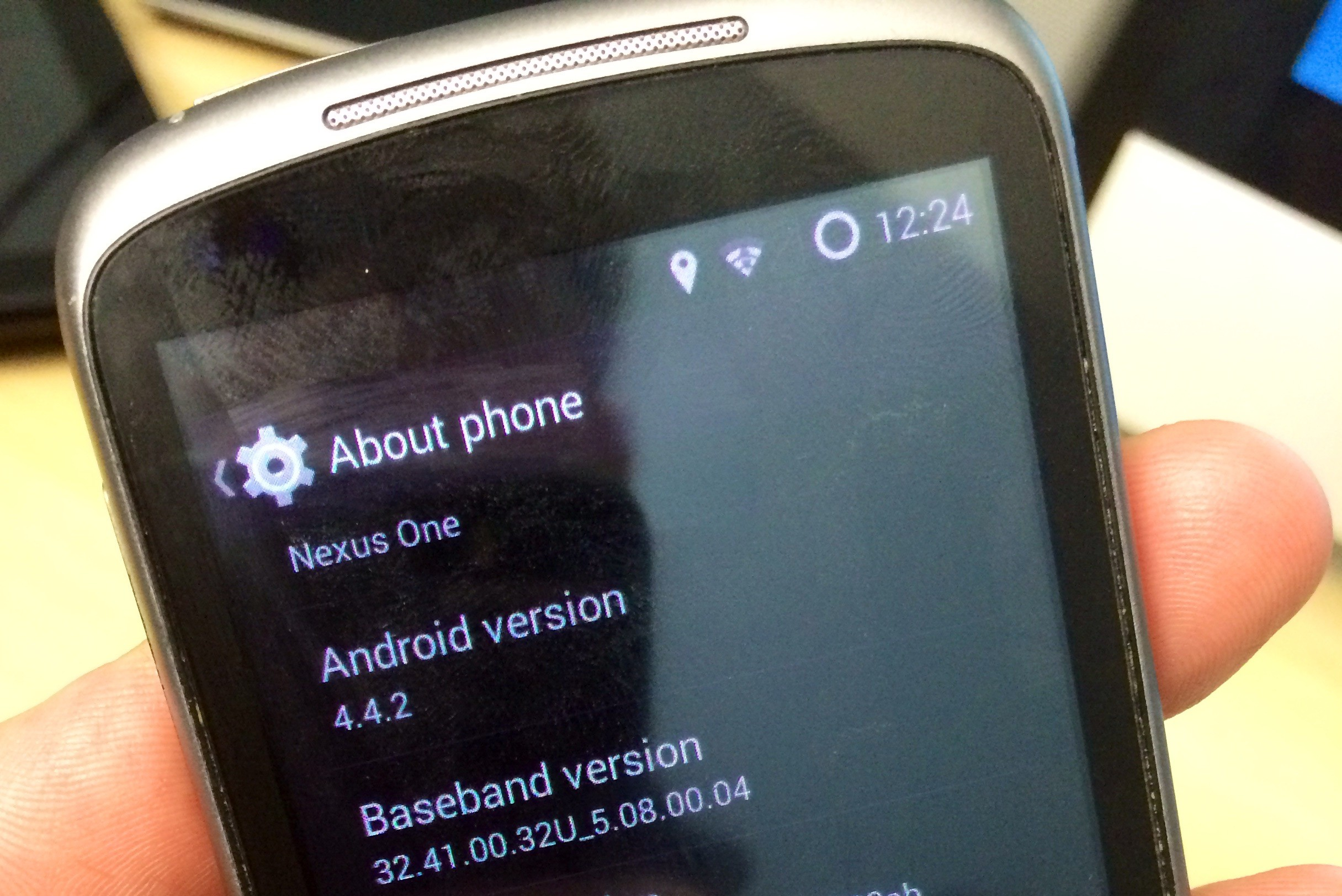 Nexus One KitKat