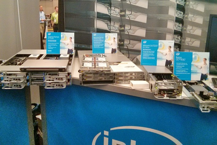 An array of alternate server designs from Intel.