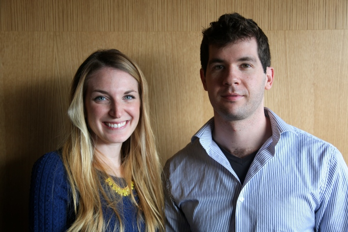 Ringly co-founders Christina Mercando and Logan Munro
