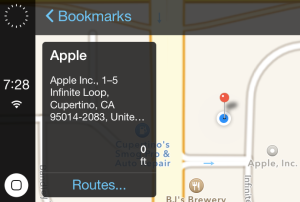 iOS in the Car address