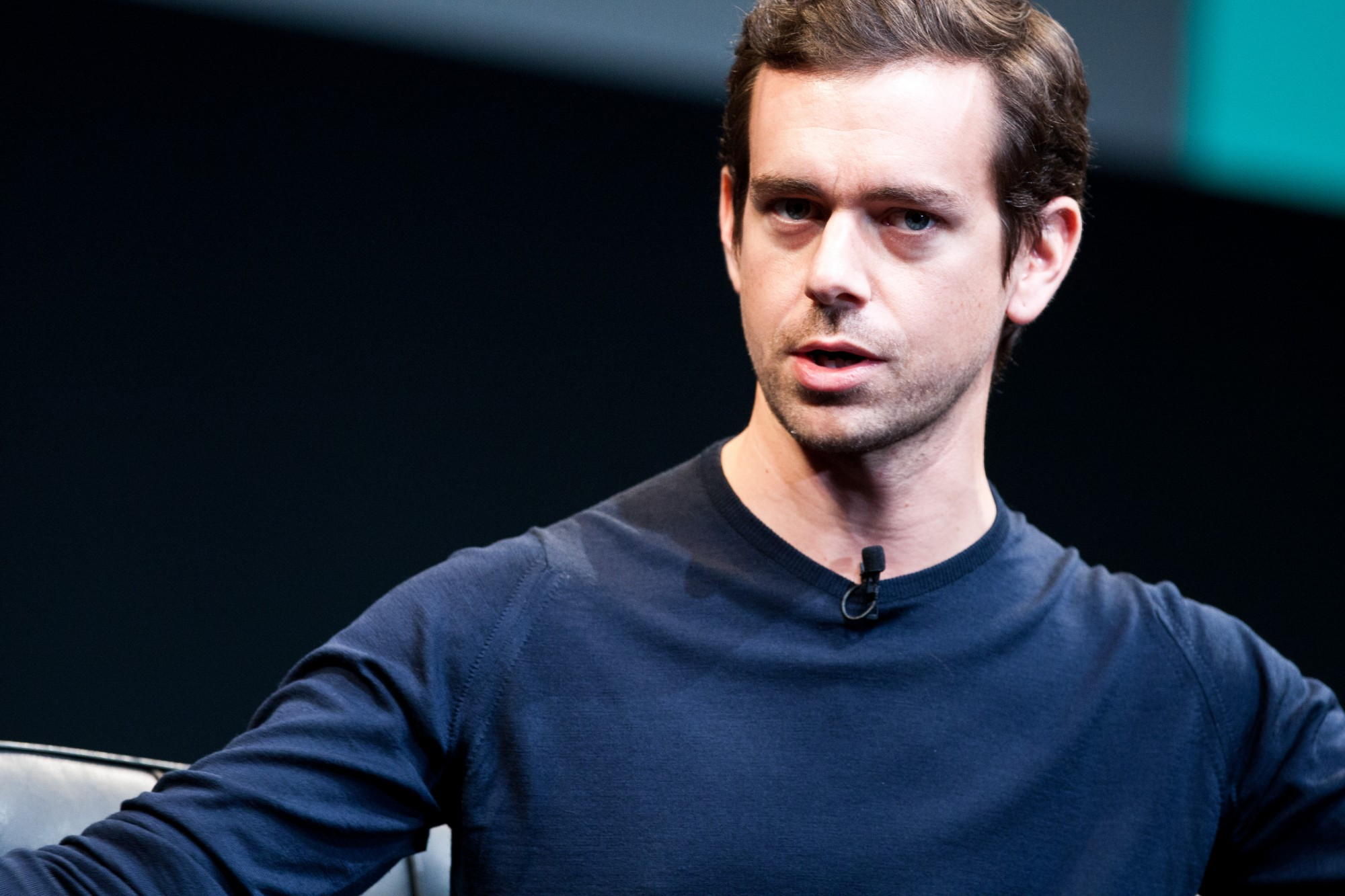 Jack Dorsey on stage at Gigaom Roadmap 2013 (photo courtesy of Gigaom/Pinar Ozger)