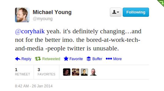 Michael Young tweet