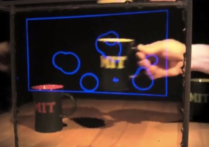 MIT transparent display