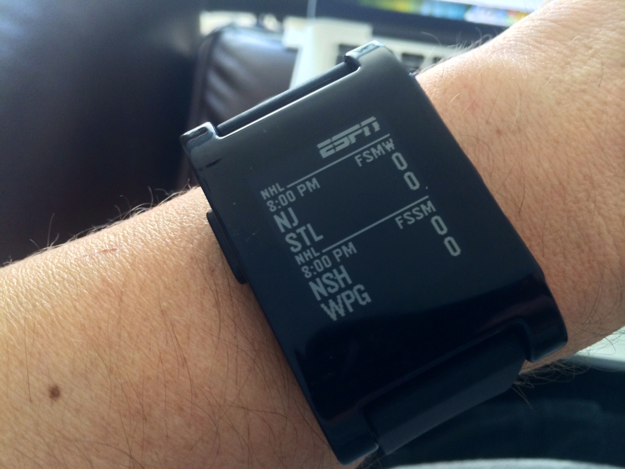nhl on pebble