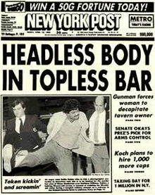 NY Post headless body