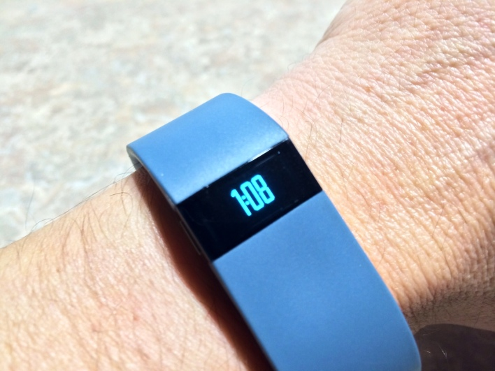 Fitbit Force on wrist