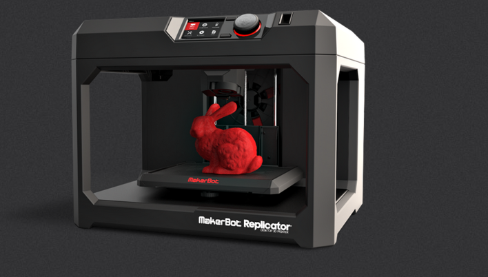 The new MakerBot Replicator. Photo courtesy of MakerBot.