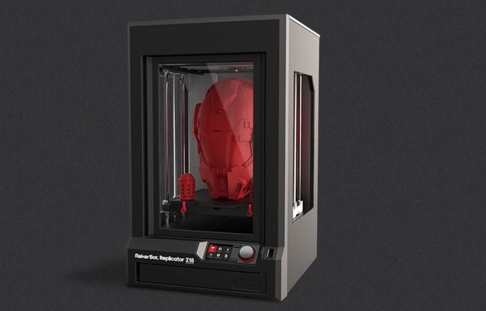 The MakerBot Replicator Z18. Photo courtesy of MakerBot.