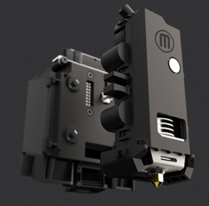 The new smart extruder. Photo courtesy of MakerBot.