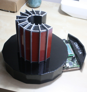Chris Fenton scale model of Cray-1